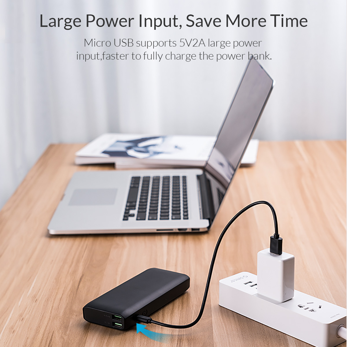 large power input save more time