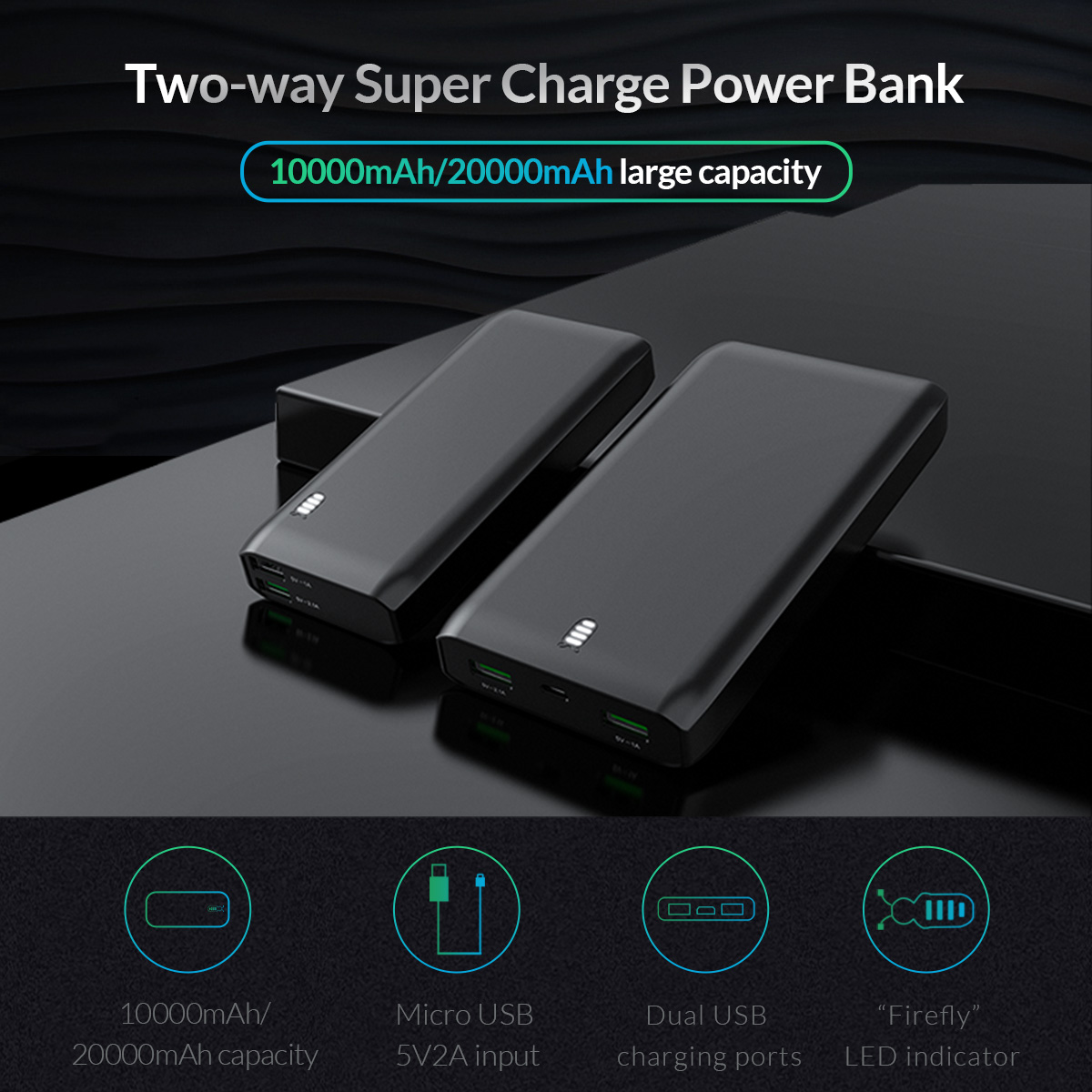 two-way super charge power bank